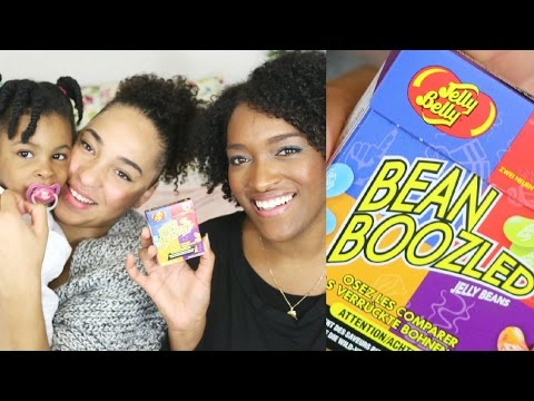 JELLY BELLY / BEAN BOOZLED CHALLENGE avec ma soeur et ma fille !