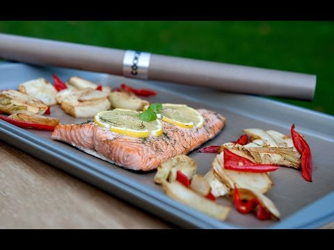 Cookina Nonstick Grill And Oven Mat