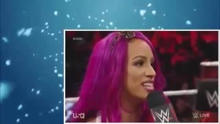 WWE RAW 10 24 16   Charlotte & Sasha Banks Contract Signing