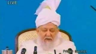 Friday Sermon 10 January 2003.