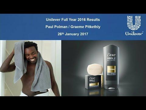 Unilever Q4 & full year 2016 results presentation