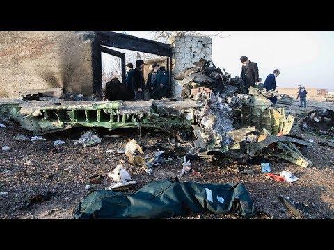 Крушение украинского самолёта