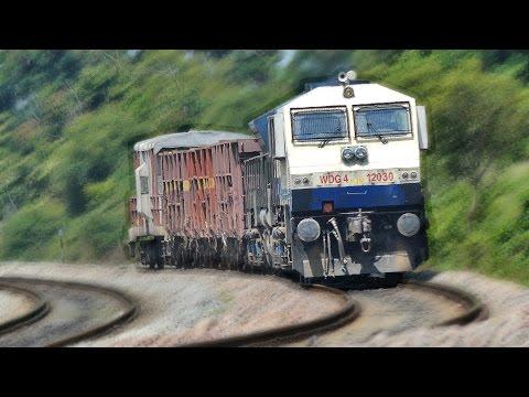 Shortest SINGLE Vs TWIN Freight Trains : Indian Railways