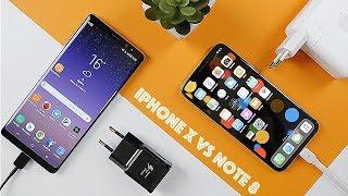iPhone X против Note 8: чья быстрая зарядка быстрее?