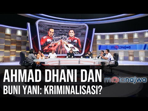Tancap Gas Jelang Pentas: Ahmad Dhani dan Buni Yani: Kriminalisasi? (Part 6) | Mata Najwa