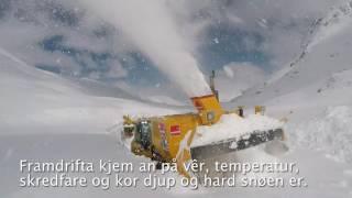 Statens vegvesen - Snøfresing på fv. 63 Geiranger-Langvatn