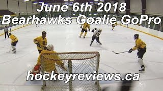June 6th 2018 Bearhawks Hockey Goalie GoPro