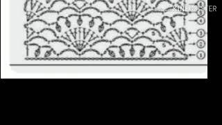 Урок 202. Очень красивые узоры для вашего вязания крючком. Схемы.