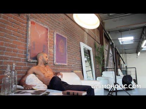 Ricky Whittle  Glamoholic Magazine Photo Shoot