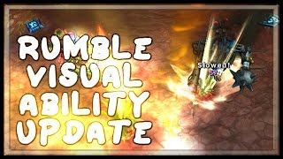 Rumble Visual Ability Upgrade - League of Legends