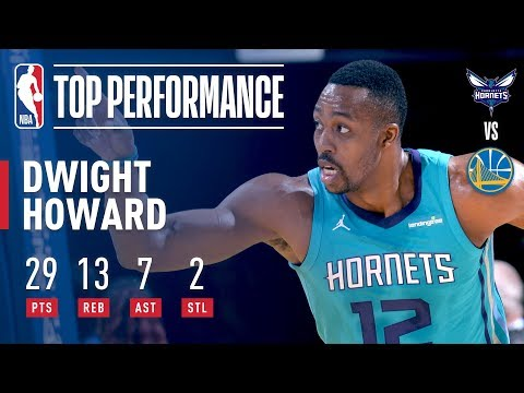 Dwight Howard Scores Season High 29pts and Ties Career High 7ast vs The Warriors