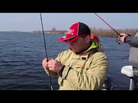 видео ловля на легкий джиг