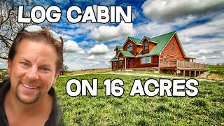 Log Cabin Home For Sale In Kentucky, 16 Acres, Views, Maysville Ky