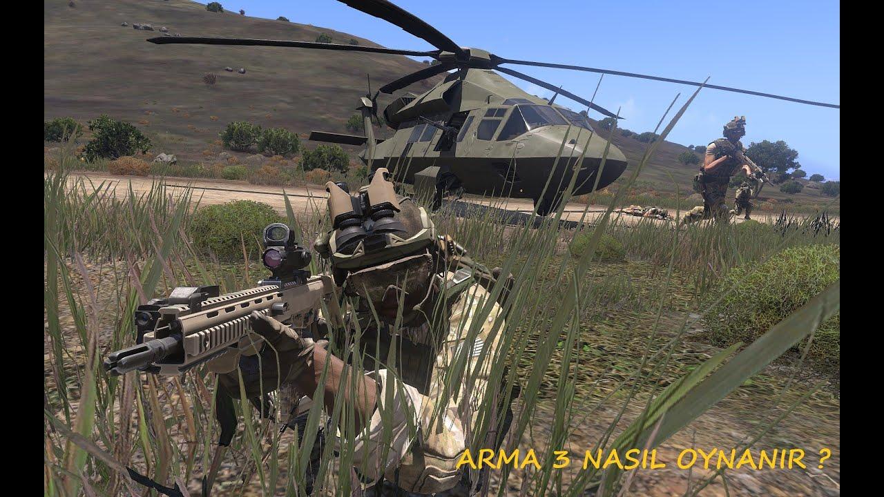 ARMA 3 INCELEME ARMA 3 NASIL OYNANIR REHBER VİDEOMUZ #ARMA3