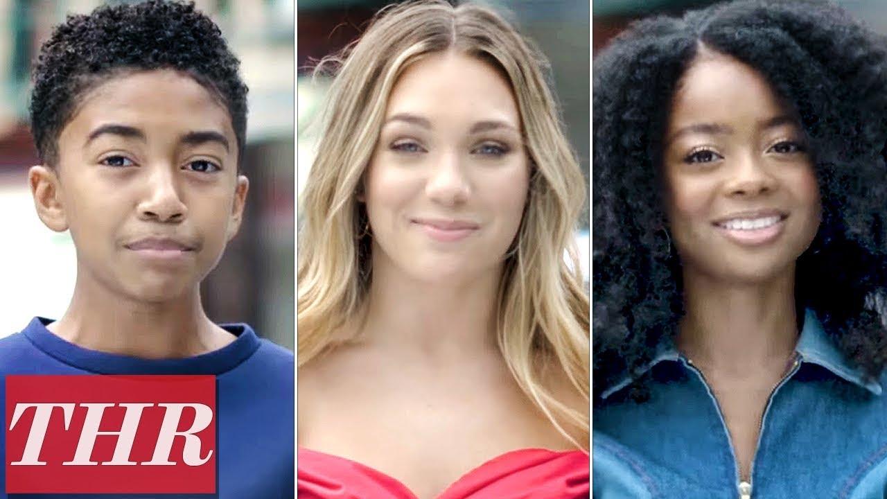 Young Hollywood Plays 'Finish This Sentence': Maddie Ziegler, Skai Jackson, Miles Brown   THR