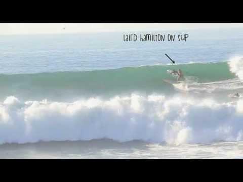 LAIRD HAMILTON SHOOTS MALIBU PIER....On 8-27-2014