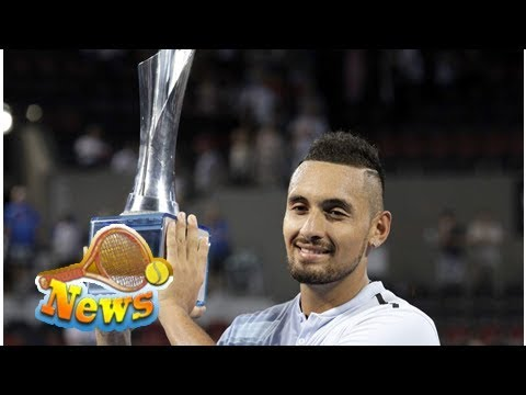 Kyrgios clinches maiden tour title on home soil