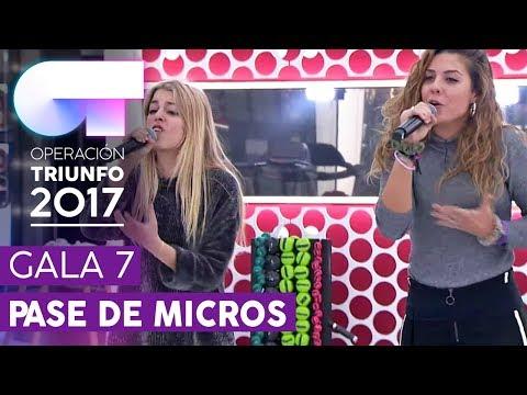 CÓMO HABLAR - Nerea y Miriam | Segundo pase de micros para la Gala 7 | OT 2017
