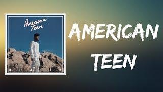 Khalid  American Teen (Lyrics)