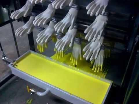 Линия для производство резиновых перчаток