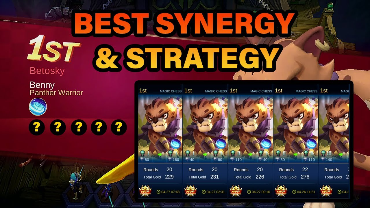 Win All Your Magic Chess Games With This Synergy & Strategy | MLBB