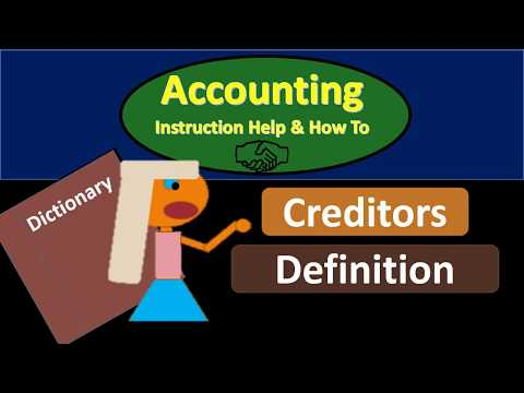 Creditors Definition - What are Creditors