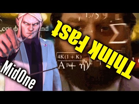 How Fast Is MidOne - Having Fun With Teammates [Invoker + Puck] Dota 2