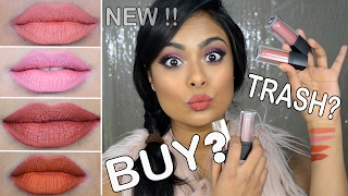 *NEW* SUGAR Cosmetics Liquid Lipstick Review, Swatch, Wear Test (on Tan Dark skin) - SMUDGE ME NOT