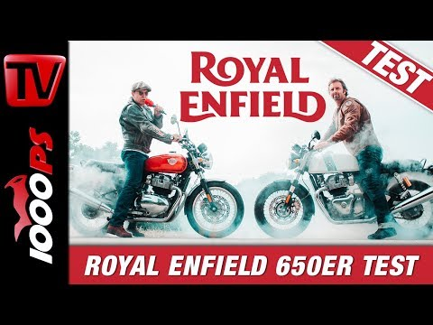 Royal Enfield Continental GT 650 und Interceptor 650 Test 2019 - ein episches Intro!