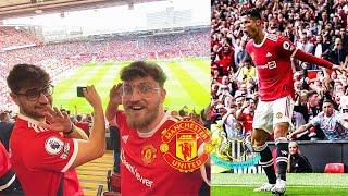 Ronaldo Stadionvlog - Erstes Spiel für Manchester United ⚽⚽   ESKALATION PUR   ViscaBarca