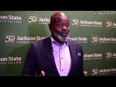 VIDEO: Jackson State Community College welcomed Emmitt Smith to foundation banquet