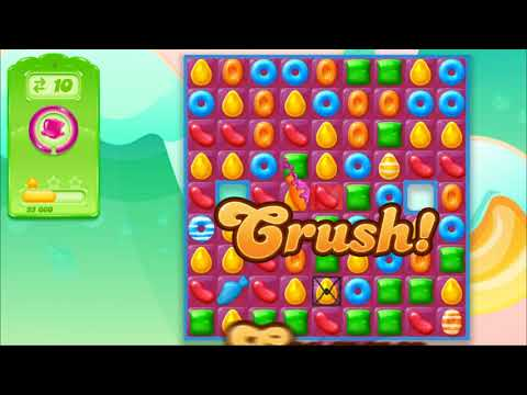 Candy Crush jelly unedited gameplay, thumb score and quick review