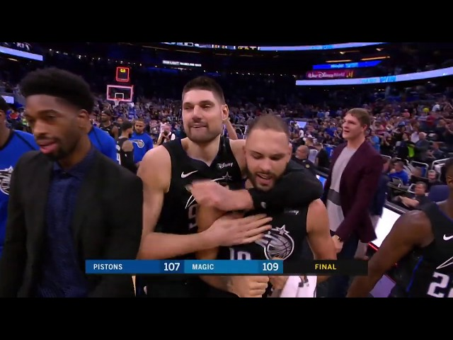 Detroit Pistons vs Orlando Magic : December 30, 2018