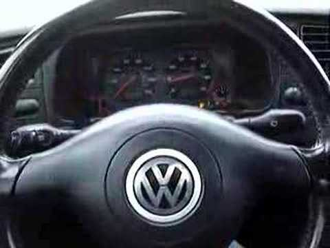 2000 VW Cabrio Lot Test