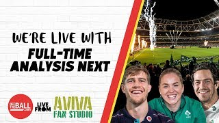 Ireland v Argentina full-time analysis