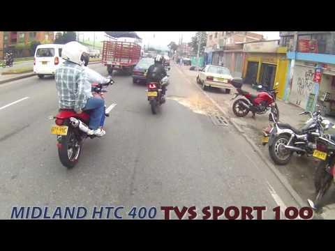 MIDLAND XTC 400   TVS SPORT 100 Bogota Colombia