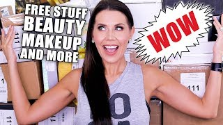 FREE STUFF BEAUTY GURUS GET | Unboxing PR Packages ... Episode 5