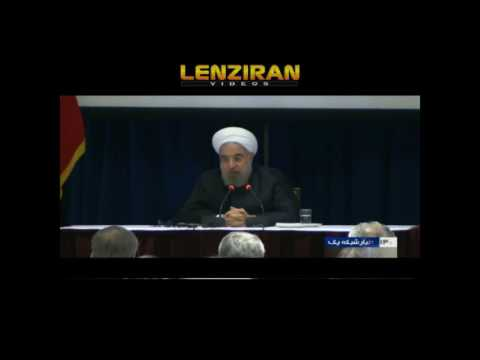 Hassan Rouhani answer to CNN  : Which candidate of presidency in US do you support ?