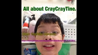 All about me, CrayCrayTine