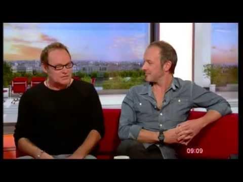 Cutting Crew's Nick Van Eede & Gareth Moulton on BBC Breakfast 2nd Oct 2015