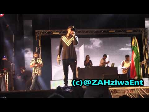 AKA  - Baddest, Composure,The Saga,One Time, All Eyes On Me  Live Performance