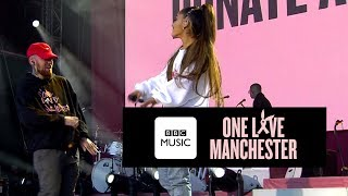 Mac Miller and Ariana Grande perform The Way at One Love Manchester...