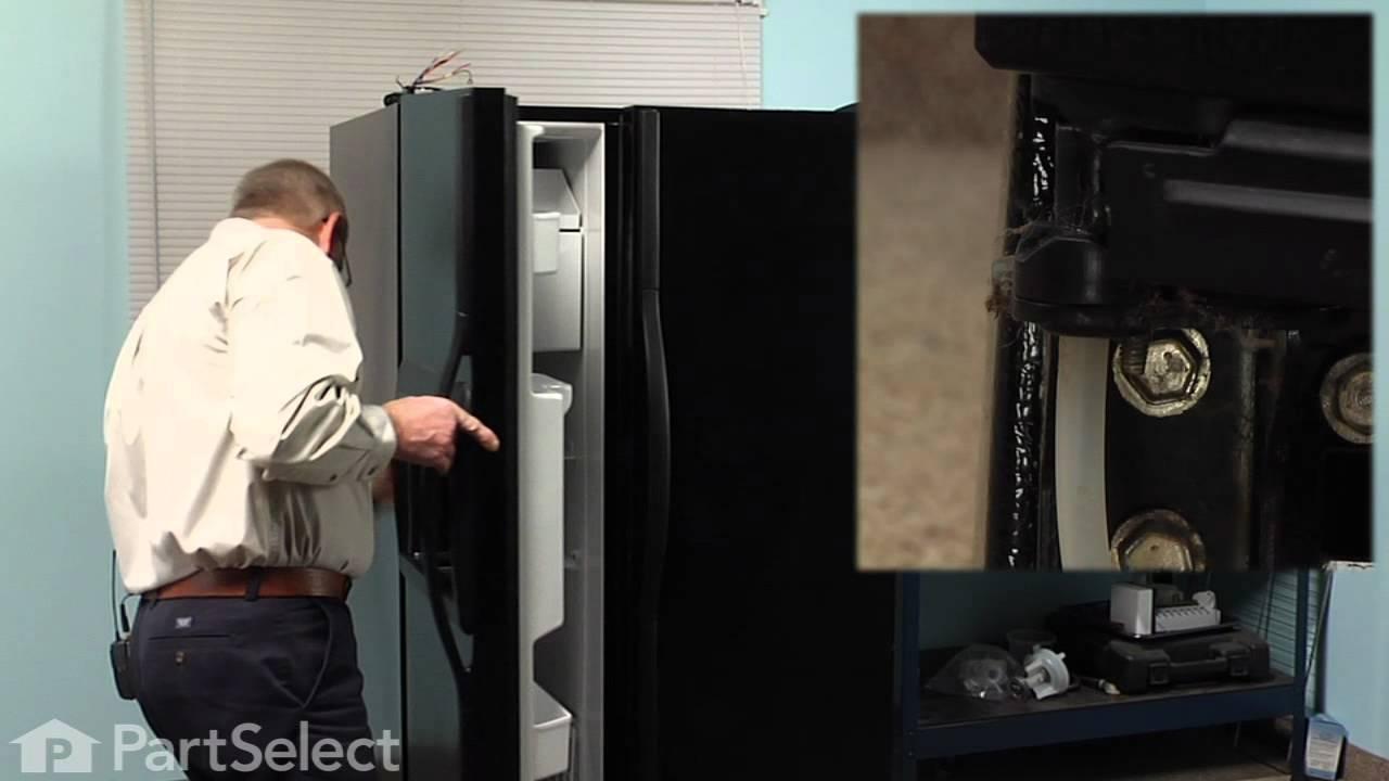 Refrigerator Repair Replacing The Door Closing Cam Kit