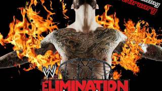 "WWE Elimination chamber 2012 official theme song - ""In the cage""+posters"
