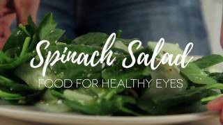 Spinach Salad recipe - Eye health food | SmartBuyGlasses