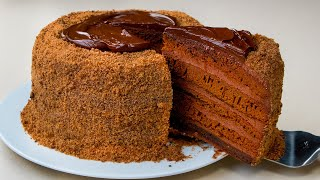 Без замеса теста и духовки ИДЕАЛЬНЫЙ шоколадный торт Appetitno TV