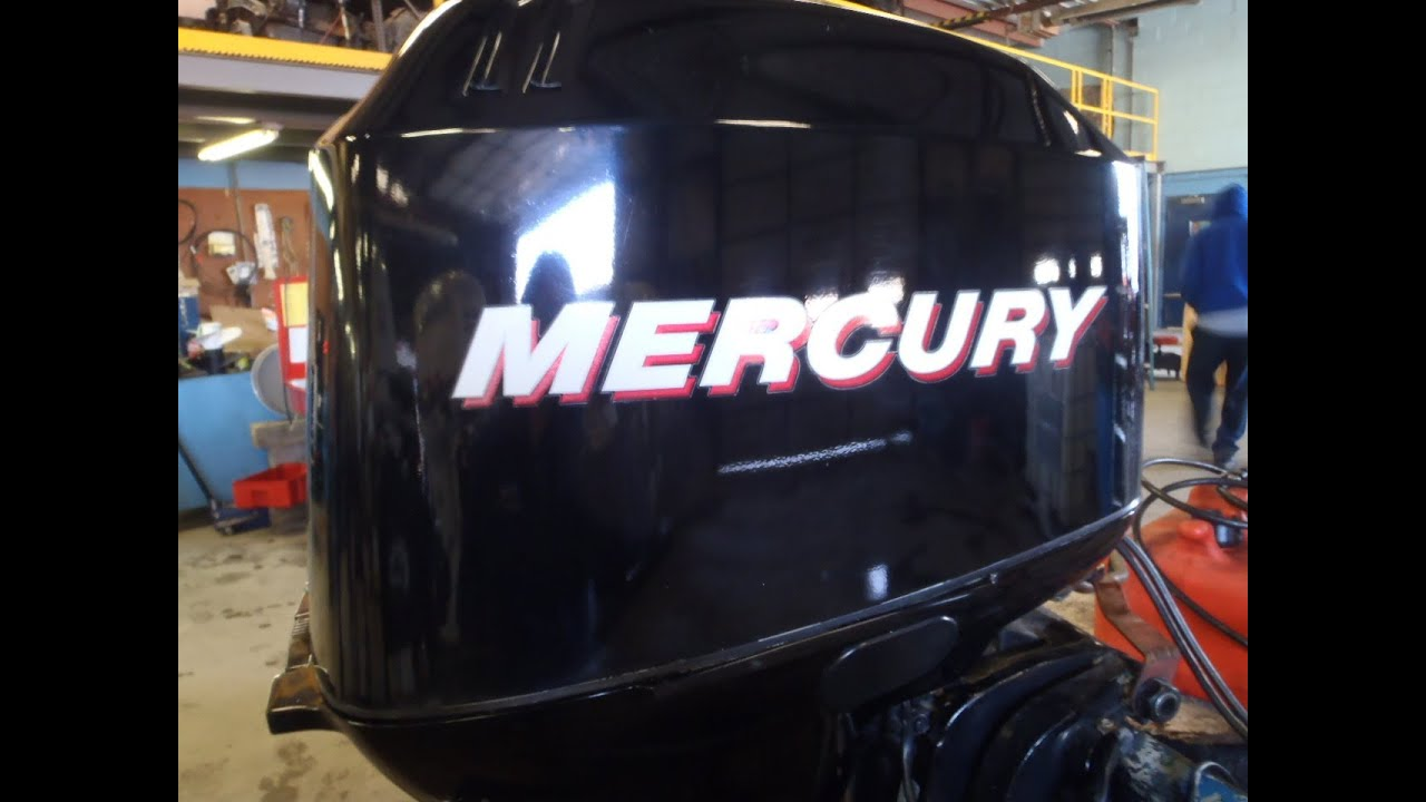6M3C00 Used 2006 Mercury 60ELPT BigFoot 60HP 4 Stroke Outboard Boat Motor 20 Shaft