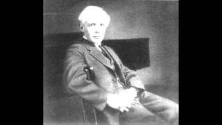 Bartok Staccato and Ostinato (played by the composer, 1937)