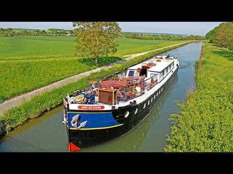 A Luxury Hotel Barge Cruise on 'L'Art de Vivre' in Burgundy