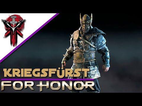For Honor - Kriegsfürst in schwarz - Gameplay Let's Play Deutsch